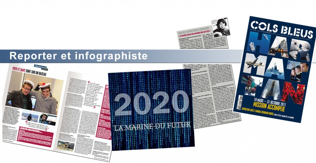 reporter infographie